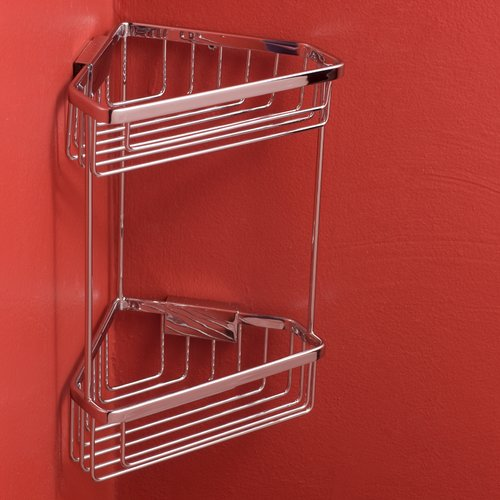 Bissonnet City Double-Tier Corner Shower Caddy