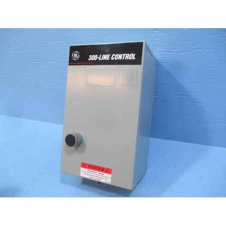 New General Electric GE CR306A102 Size 00 Enclosed Starter 120V Coil 3 Pole