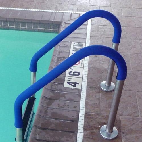 Blue Wave 8' Grip for Pool Handrails, Royal Blue