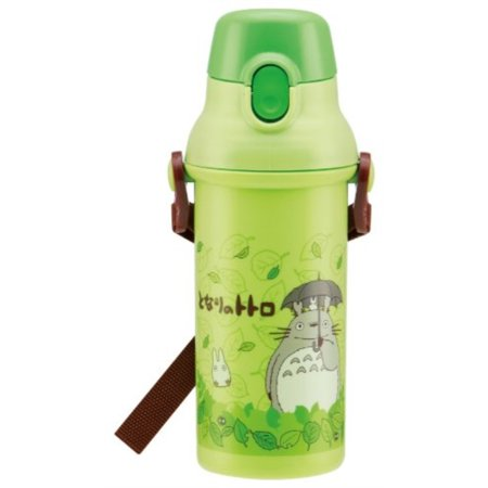 Skater Plastic drink bottle one-touch direct 480ml My Neighbor Totoro Stroll (Studio Ghibli) Japan import by - Import Direct