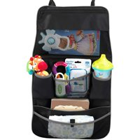 SafeFit Car Seat and Stroller Organizer, Organizer for Backseat, Black