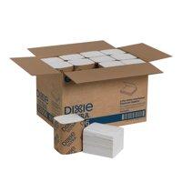 "Georgia-Pacific Dixie Ultra 2-Ply Interfold Napkin Dispenser Refills, 6 1/2"" x 5"", White, 250 Napkins Per Pack, Case Of 24 Packs"