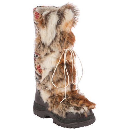 MUK LUKS Women's Sesu Southwest Fairisle Tall Snow Boot