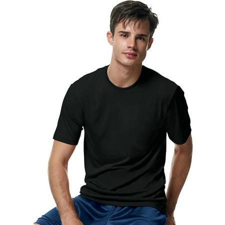 f9eff67f Hanes - Cool DRI Tagless Men's T-Shirt - Walmart.com