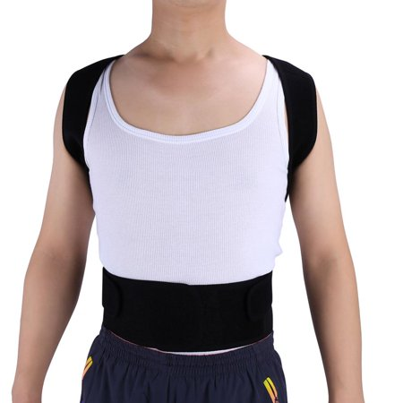 Adjustable Posture Corrector Upper Back & Shoulder Support Brace by Shoulder Care, Best Posture Brace Back (Best Upper Back Support Brace)