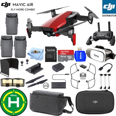 DJI Mavic Air Fly More Combo (Flame Red) #CP.PT.00000174.01 PRO KIT IN STOCK