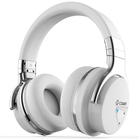 COWIN E7 Active Noise Cancelling Bluetooth Headphones with Microphone  Wireless Headphones Over Ear, 30H Playtime for Travel Work TV Computer  Cellphone