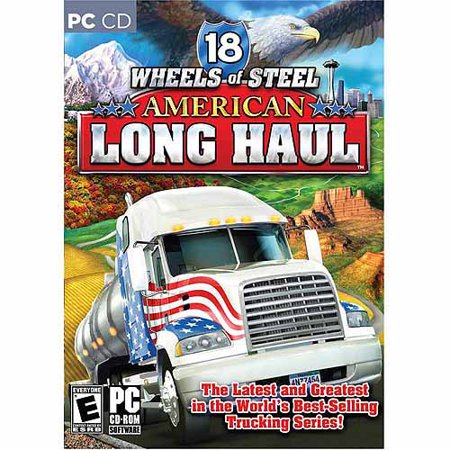 ValuSoft Cosmi 18 Wheels Of Steel: American Long Haul (Windows) (Digital