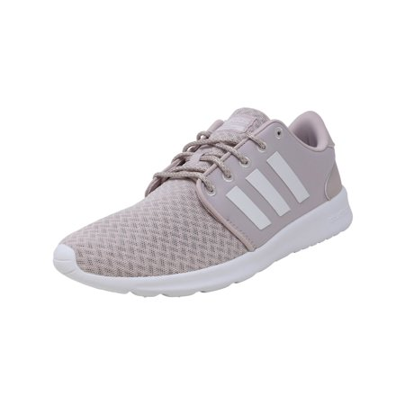 Adidas Women's Qt Racer Ice Purple / Footwear White Light Granite Ankle-High Mesh Running Shoe - 8M