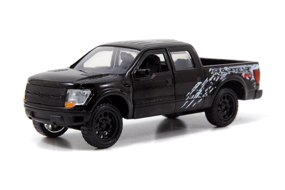 Ford F-150 SVT Raptor Pickup Truck, Black Jada Toys Just Trucks 97013 1 32 scale Diecast... by Jada