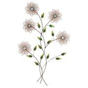 DecMode Flower Bouquet Wall Sculpture