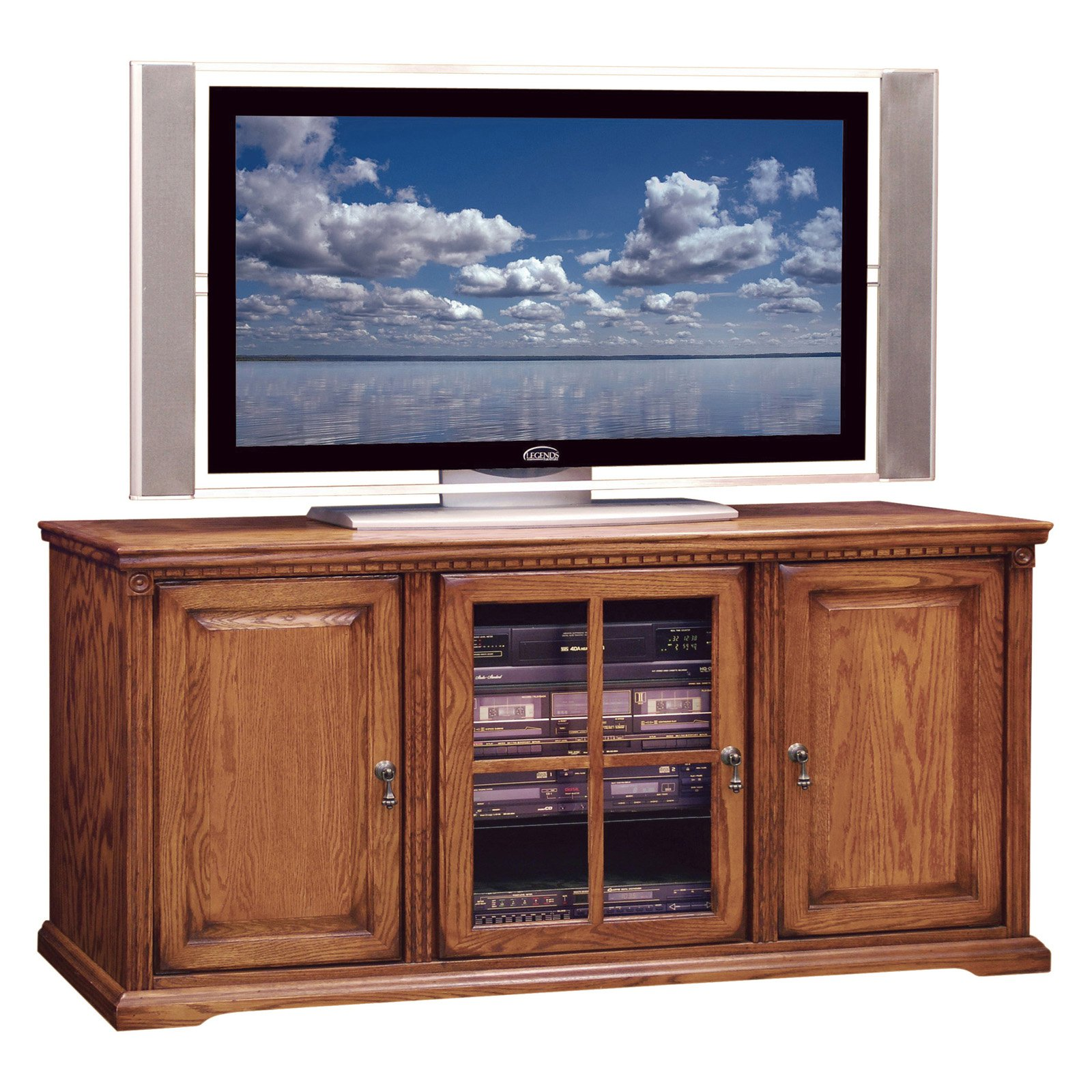 Legends Scottsdale 56 in. TV Console - Rustique