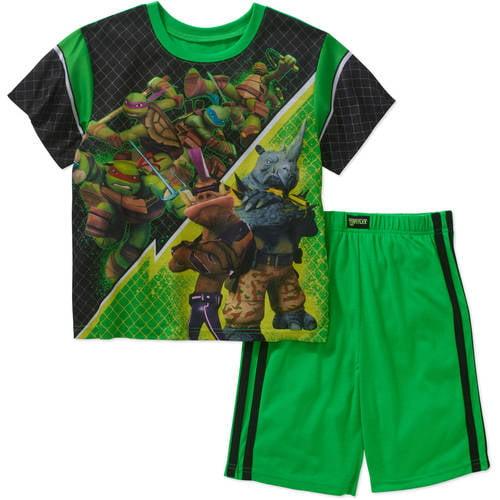 Teenage Mutant Ninja Turtles 2 PC Short Sleeve Pajama Set Boy S 6//7