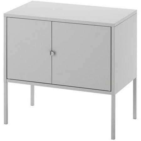 Ikea Storage Cabinet Metal Gray 1628 82620 2638