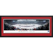 "Chicago Blackhawks 18"" x 44"" Deluxe Framed Panoramic -"