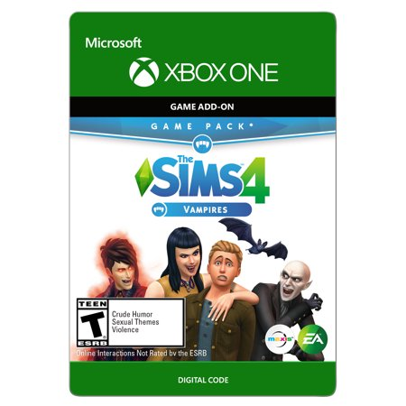 THE SIMS 4 (GP4) VAMPIRES Xbox One (Email Delivery)