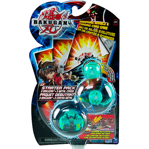 Image of Bakugan Starter Pack (styles and colors vary)