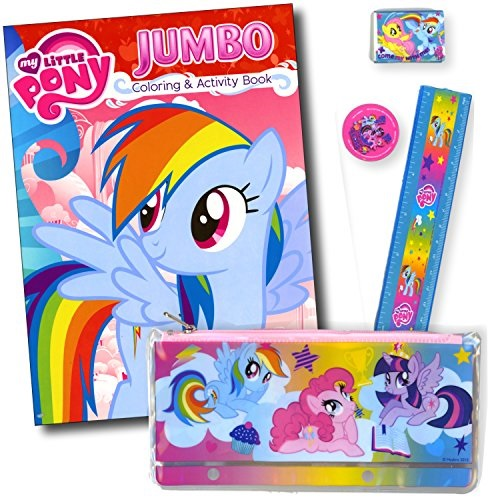 My Little Pony Coloring And Activity Book - Featuring Rainbow Dash By My  Little Pony - Walmart.com - Walmart.com