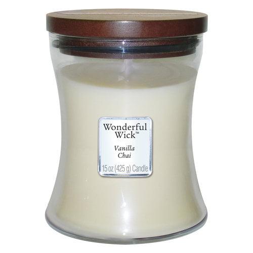 Wonderful Wick 15-oz Spice Jar Candle, Vanilla Chai