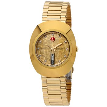 Rado Original L Automatic Yellow Gold Dial Men's Watch