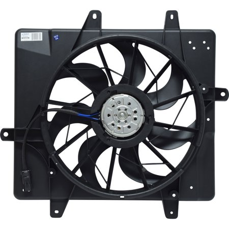 New Dual Radiator and Condenser Fan Assembly FA 50294C - 5017407AB PT Cruiser (A/c Condenser Radiator Fan)