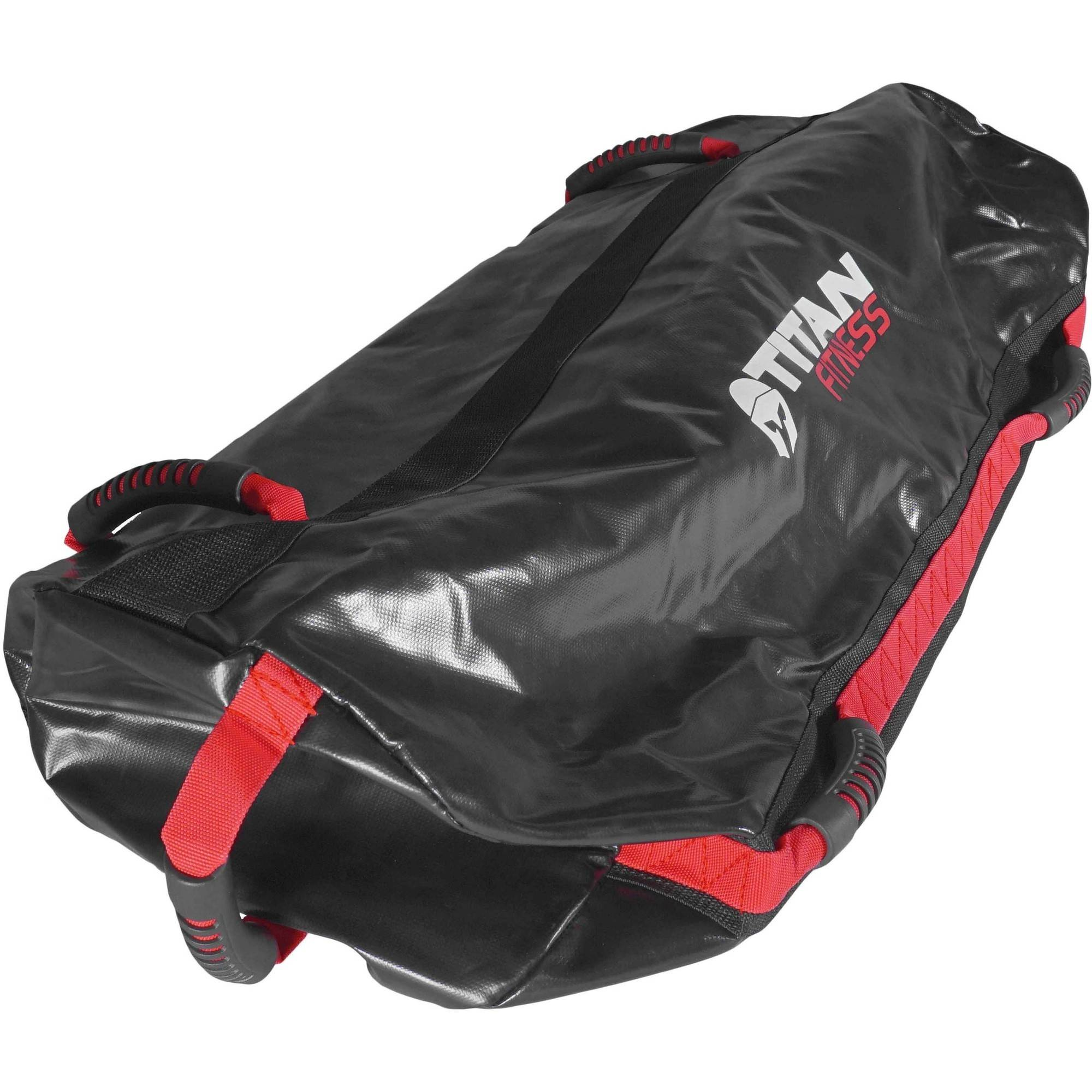 b8efde94e1d7 Titan Fitness 100 lb Heavy Duty Workout Weight Sandbag Exercise Training Bag