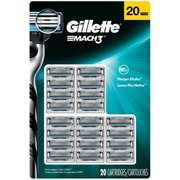 Gillette MACH3 Cartridges - 20 ct