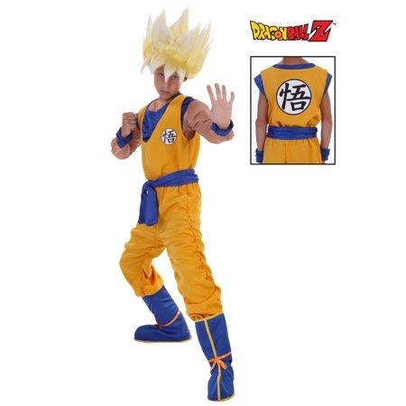 Child Super Saiyan Goku Costume - Dbz Goku Costume