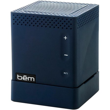 BEM Wireless HL2739D Mojo Bluetooth Wireless Speaker with 1800mAh Powerbank Blue Alnico Blue Guitar Speaker