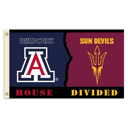 Arizona - Arizona State 3 Ft. X 5 Ft. Flag W/Grommets - Rivalry House Divided