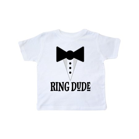 Ring Dude Ringbearer Bridal Party Wedding Toddler T-Shirt (Old Dudes Rule T Shirt)