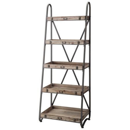 Voyager Metal and Wood Tiered