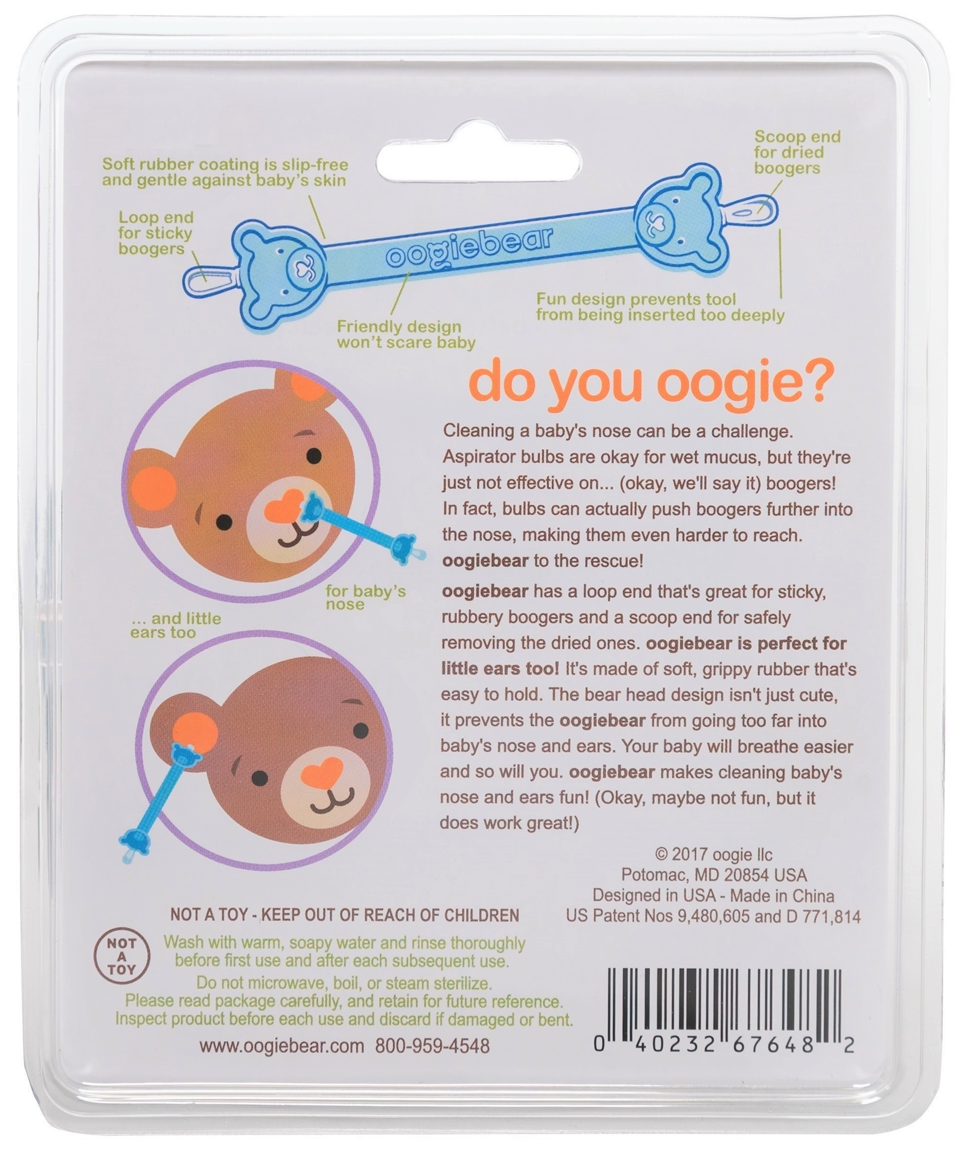 Oogiebear Infant Ear & Nose Cleaner