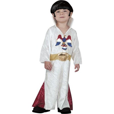 Toddler Elvis Costume~White / 2T - Elvis Halloween Costume Toddler