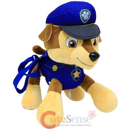 Paw Patrol Chase Plush Doll Backpack 14