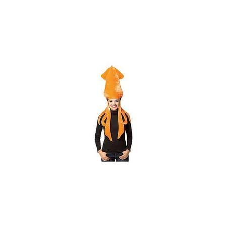 Unisex Squid Adult Headwear Costumes, Multi-Color - One Size](Squid Ink Pasta Halloween)