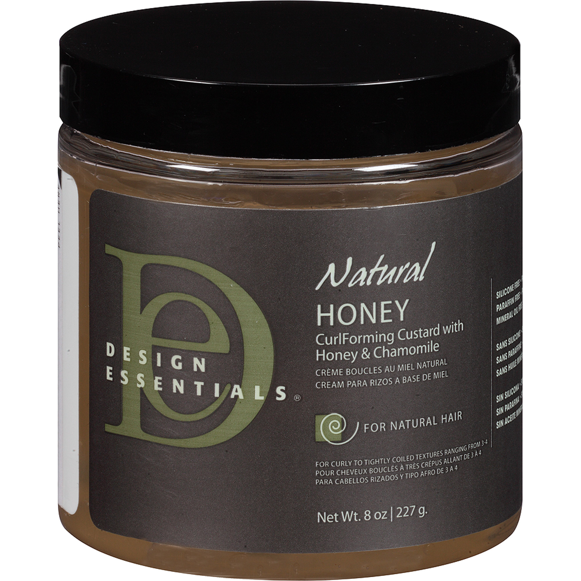 Design Essentials Natural Honey CurlForming Custard with Honey & Chamomile, 8 oz