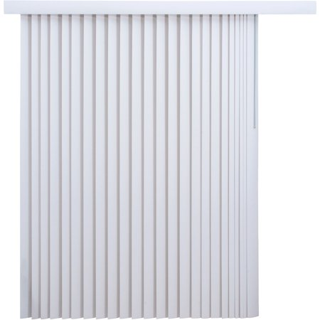 Fabric Vertical Blinds - Solid Vertical Privacy Blinds (78