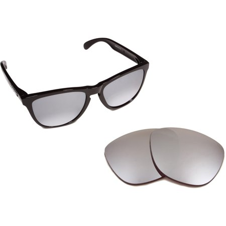 Replacement Lenses Compatible with OAKLEY Frogskins Non-Polarized Black (Oakley Frogskins Iridium Lens)