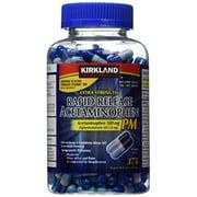 Extra Strength Rapid Release Acetaminophen PM 500mg - 375 Gelcaps