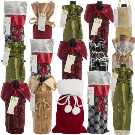 for keeps 15 pack wine bottle holder gift bags for reds whites bulk