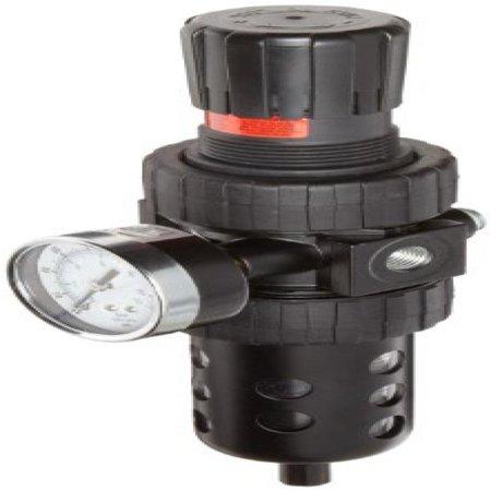 Fox Float Air Pressure - Parker 06E16A13AC One-Unit Combo Compressed Air Filter/Regulator, 1/4