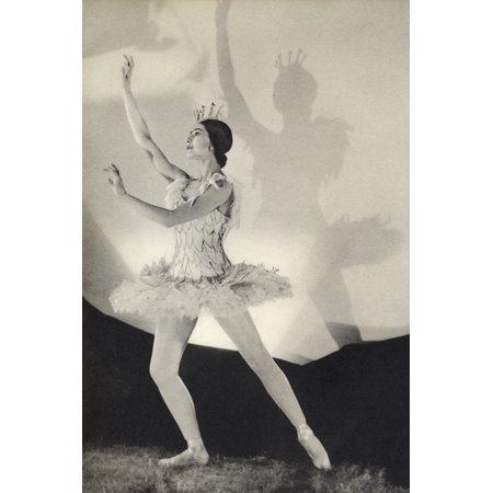 Dame Margot Fonteyn De Arias 1919  1991 British Prima Ballerina Assoluta From The Book Footnotes To The Ballet Published 1938 PosterPrint - Prima Ballet