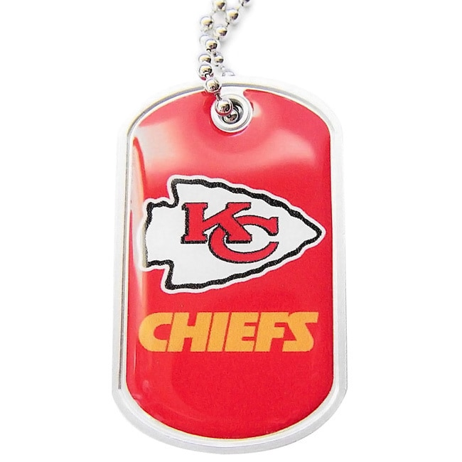 Aminco NFL Dog Tag Domed Necklace Charm