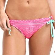 Swim Crochet Bikini Swimsuit Bottom With Side Ties