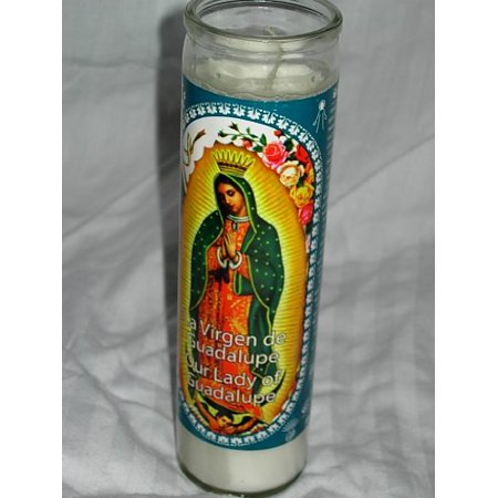 Our Lady of Guadalupe Religious Prayer Candle / La Virgen de ...