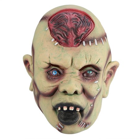 Yosoo 1PC Latex Horror Scary Face Mask for Cosplay Fancy Dress Halloween Party , Cosplay Mask, Halloween Mask for $<!---->
