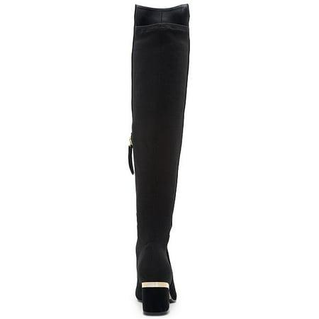 1345a456002 DKNY Womens Cora Almond Toe Knee High Fashion Boots - image 1 of 2 ...