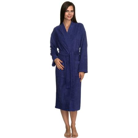 TowelSelections Women's Robe Turkish Cotton Terry Kimono