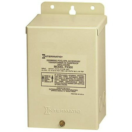 Intermatic PX300 12V 300W Transformer with Automatic Circuit Breaker